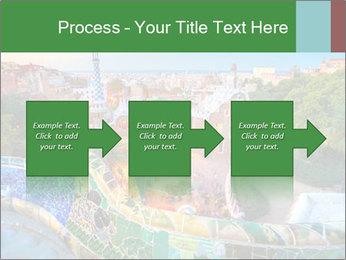 Spanish Gaudi Building PowerPoint Templates - Slide 88