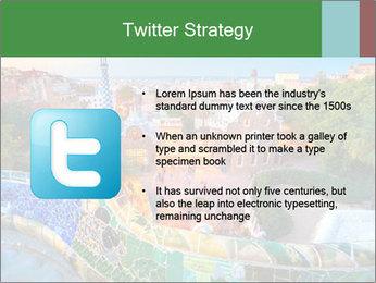 Spanish Gaudi Building PowerPoint Template - Slide 9