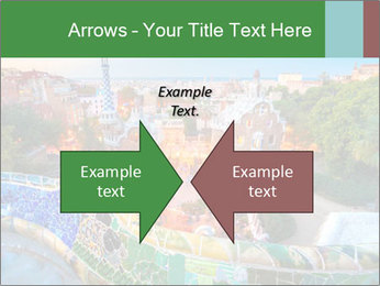 Spanish Gaudi Building PowerPoint Template - Slide 90