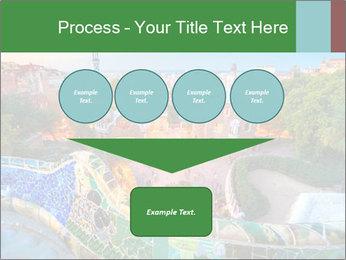 Spanish Gaudi Building PowerPoint Template - Slide 93