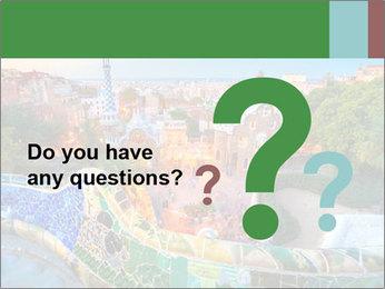 Spanish Gaudi Building PowerPoint Template - Slide 96