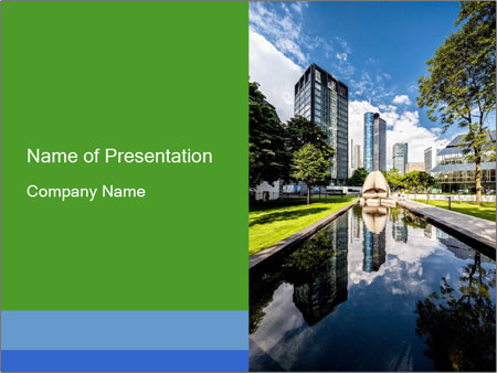 Business Downtown PowerPoint Templates