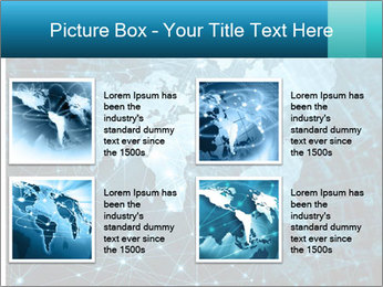 Global Internet Connection PowerPoint Templates - Slide 14