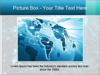 Global Internet Connection PowerPoint Templates - Slide 15