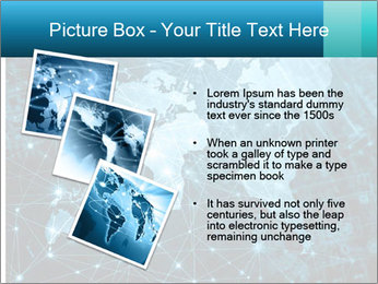 Global Internet Connection PowerPoint Templates - Slide 17