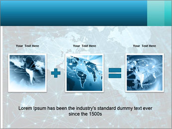 Global Internet Connection PowerPoint Templates - Slide 22