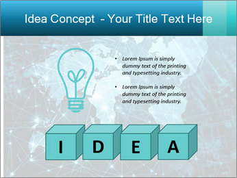 Global Internet Connection PowerPoint Templates - Slide 80