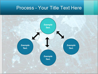 Global Internet Connection PowerPoint Templates - Slide 91