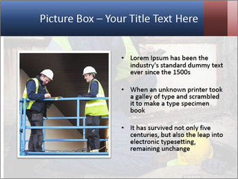 Caucasian Workers PowerPoint Template - Slide 13