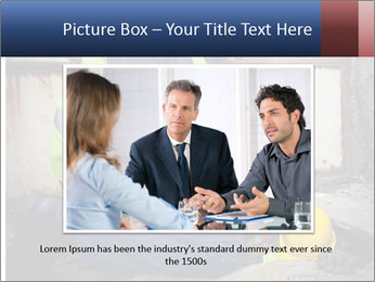 Caucasian Workers PowerPoint Template - Slide 16