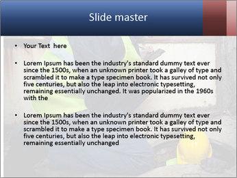 Caucasian Workers PowerPoint Templates - Slide 2