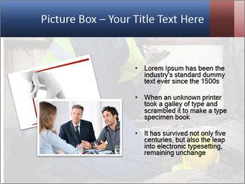 Caucasian Workers PowerPoint Templates - Slide 20