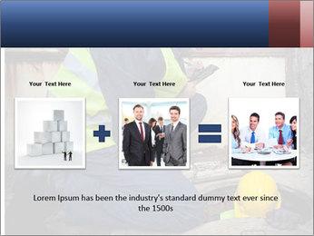 Caucasian Workers PowerPoint Templates - Slide 22