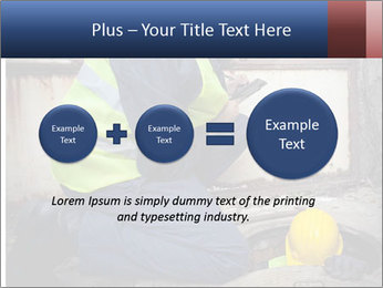 Caucasian Workers PowerPoint Template - Slide 75