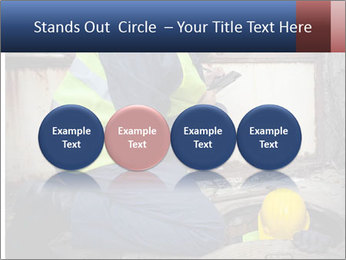 Caucasian Workers PowerPoint Template - Slide 76
