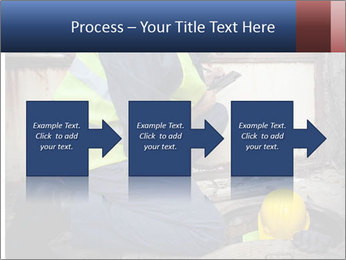 Caucasian Workers PowerPoint Template - Slide 88