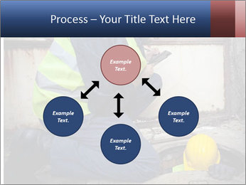 Caucasian Workers PowerPoint Template - Slide 91