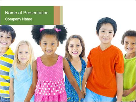 Primary Schoolchildren PowerPoint Templates