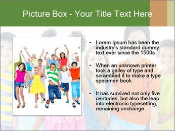 Primary Schoolchildren PowerPoint Templates - Slide 13