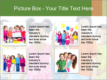 Primary Schoolchildren PowerPoint Templates - Slide 14