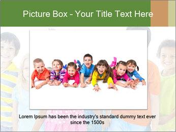 Primary Schoolchildren PowerPoint Templates - Slide 15