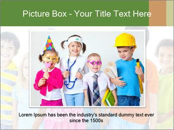 Primary Schoolchildren PowerPoint Templates - Slide 16
