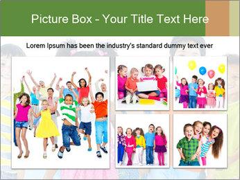 Primary Schoolchildren PowerPoint Templates - Slide 19