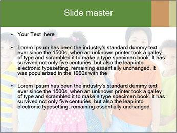 Primary Schoolchildren PowerPoint Templates - Slide 2
