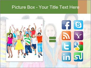 Primary Schoolchildren PowerPoint Templates - Slide 21