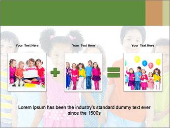 Primary Schoolchildren PowerPoint Templates - Slide 22