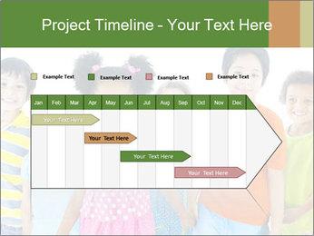 Primary Schoolchildren PowerPoint Templates - Slide 25
