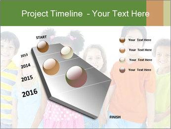 Primary Schoolchildren PowerPoint Templates - Slide 26