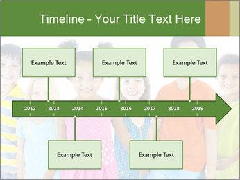 Primary Schoolchildren PowerPoint Templates - Slide 28