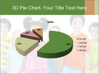 Primary Schoolchildren PowerPoint Templates - Slide 35