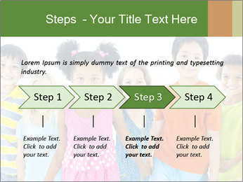 Primary Schoolchildren PowerPoint Templates - Slide 4