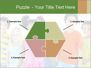 Primary Schoolchildren PowerPoint Templates - Slide 40