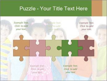 Primary Schoolchildren PowerPoint Templates - Slide 41