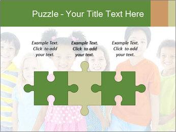Primary Schoolchildren PowerPoint Templates - Slide 42