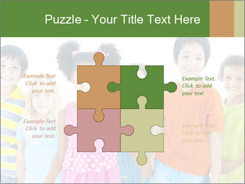 Primary Schoolchildren PowerPoint Templates - Slide 43