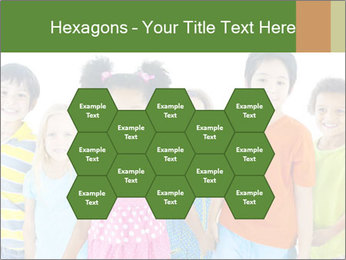 Primary Schoolchildren PowerPoint Templates - Slide 44