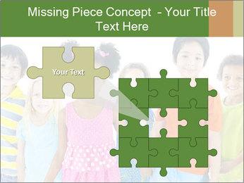 Primary Schoolchildren PowerPoint Templates - Slide 45