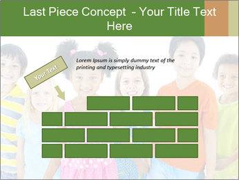 Primary Schoolchildren PowerPoint Templates - Slide 46