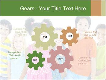 Primary Schoolchildren PowerPoint Templates - Slide 47