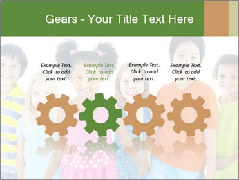 Primary Schoolchildren PowerPoint Templates - Slide 48