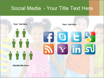 Primary Schoolchildren PowerPoint Templates - Slide 5