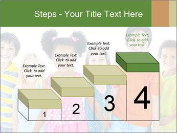 Primary Schoolchildren PowerPoint Templates - Slide 64