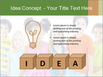Primary Schoolchildren PowerPoint Templates - Slide 80