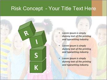 Primary Schoolchildren PowerPoint Templates - Slide 81