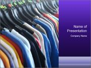 Clothes Secondhand PowerPoint Template