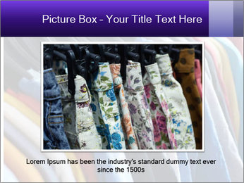 Clothes Secondhand PowerPoint Template - Slide 15